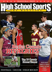 February 2008 Issue of HIGH SCHOOL SPORTS the Magazine