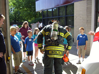 Back to School Kids Safety Camp held at FD HQ Station on August 10th & 11th.