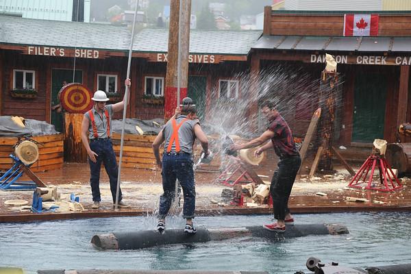 Great Alaskan Lumberjack Show - Ketchikan, Alaska - May, 2014
