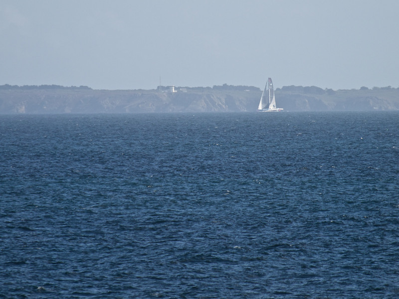 Atlantic, racing yacht (large and fast) and Îsle de Groix