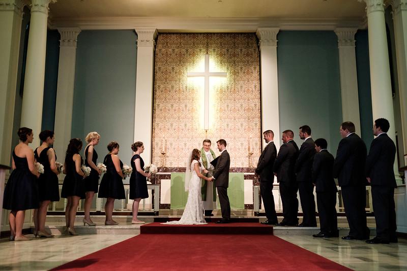 Trinity Lutheran Church 4th of July Wedding