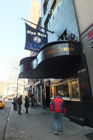 Jazz at the Blue Note Jazz Club, NYC