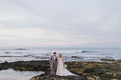 Adam and Lyndsey / Four Seasons Hualalai
