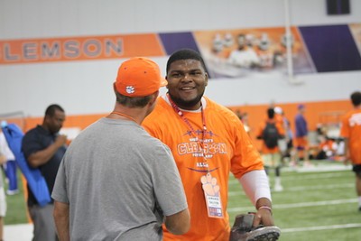 Dabo Swinney High School Camp Session 2: Day 1