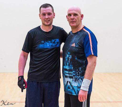 Padraic Ryder (Ireland) over Joe Devenney (Ireland)