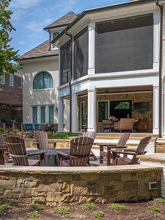 Elegant Screened Porch