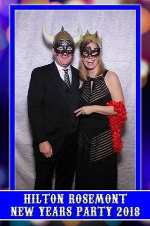 Hilton Rosemont Chicago O'Hare New Year Party 2018