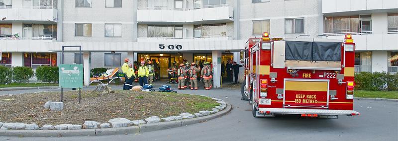December 8, 2011 - 3rd Alarm - 500 Dawes Rd.