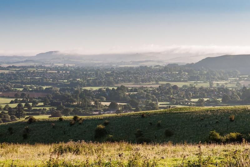 Morning light on the Blackmore Vale
