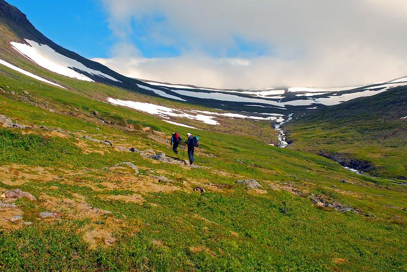 Komnir af stað og þoka framundan