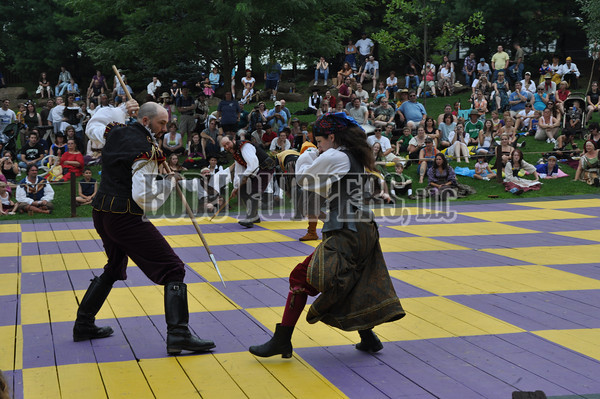 """Human Chess Board"" - Pirates versus Queen's Guards - August 9, 2009 - Nikon D90 - Mark Teicher"