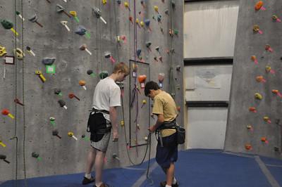 Varsity Climbing Winter 2012