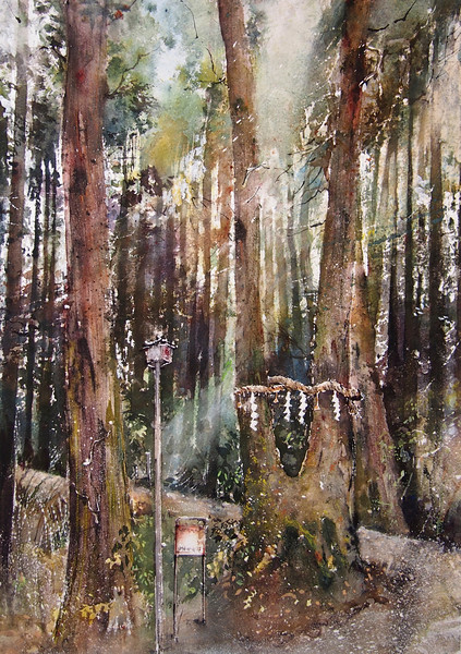 Gabrielle Moulding - Hidden Temple Forest near Soijoji Temple