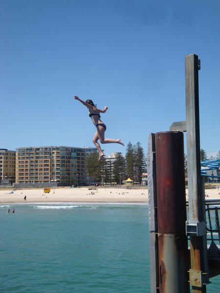 Glenelg also has a fun jetty