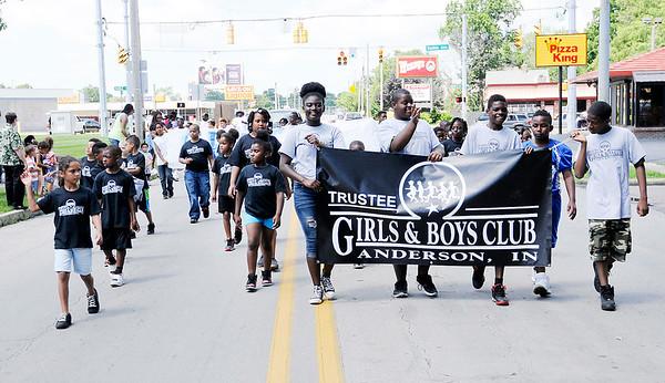 2017 Anderson Black Expo Parade