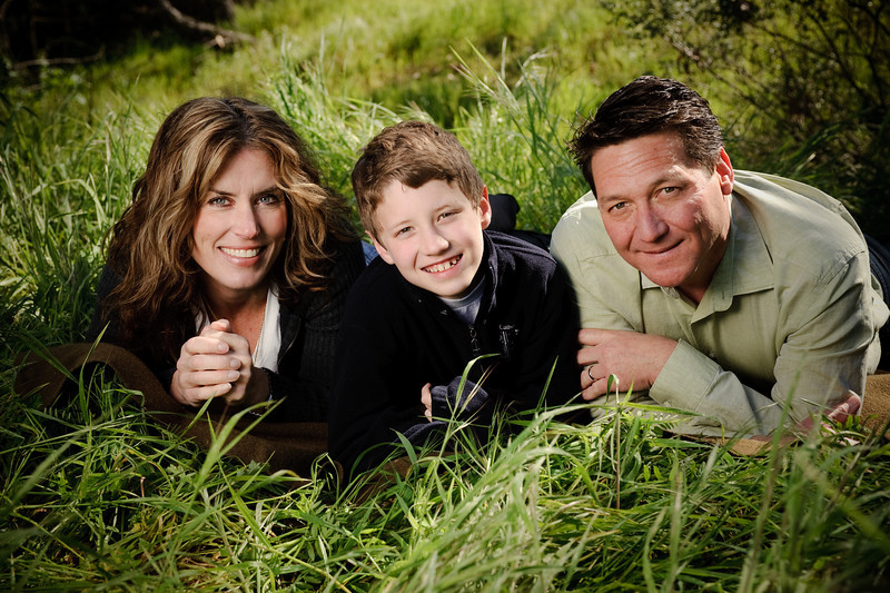 """The Farquhars <br><font size=""""-2"""">(Family Photography, Coyote Creek Trail, Morgan Hill)</font>"""