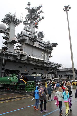 USS Nimitz Tour