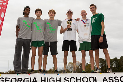 Cross Country Boys State Championship November 7, 2015