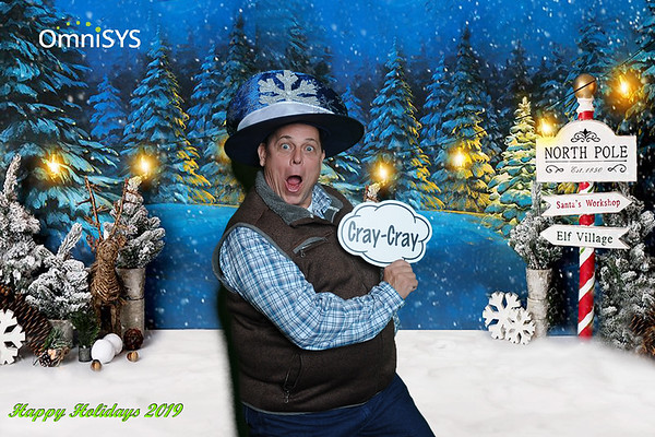 OmniSYS Holiday Party Seflie Booth and Greenscreen Photos