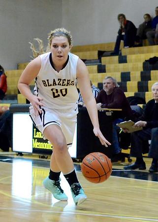 Lancaster Mennonite Girl's Basketball v. Leb Cath 1.23.14