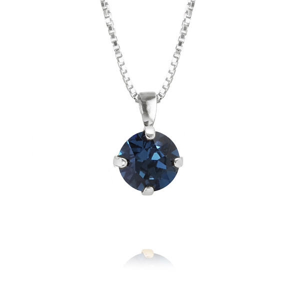 Classic Petite Necklace / Montana Rhodium