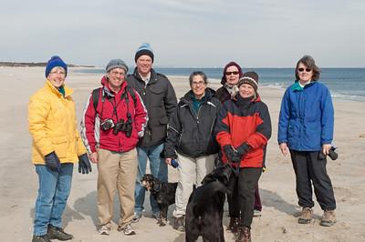 Sandy Hook Hike 2011-02-12
