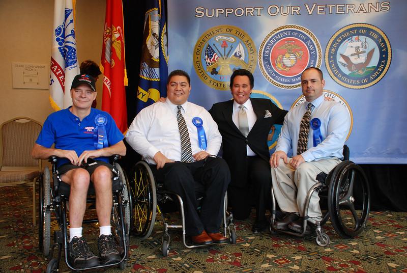 Gold Medalist Dan Koston, Diego Suazo, Wayne and and John Tuzzolino