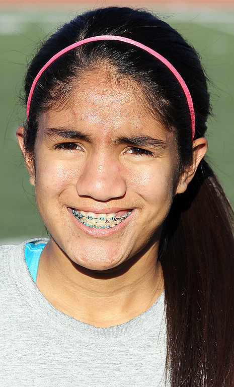 . Amanda Juan of Redlands High School has been named to The Sun\'s All-Valley Girl\'s soccer team. Courtesy photo.