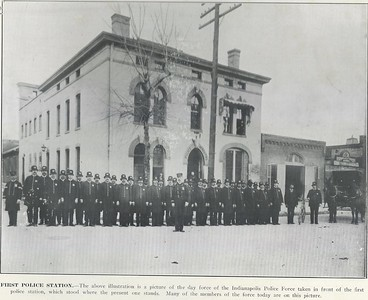 First Police Station ca 1890