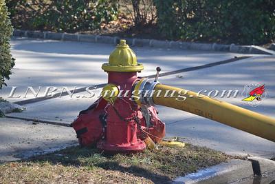 Massapequa F.D. 49 Melrose Ave. House fire 2-22-12