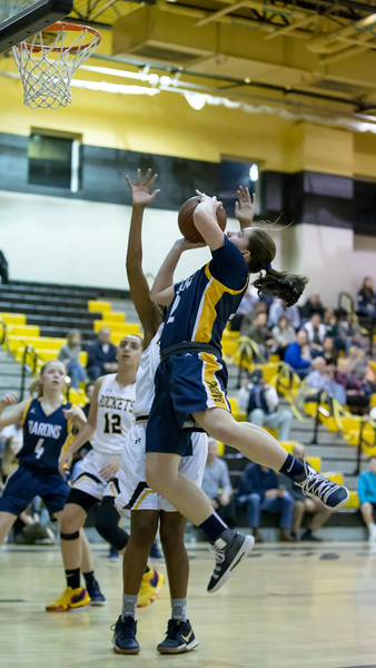 20190215 Girls Varsity Basketball BCC at Richard Montgomery