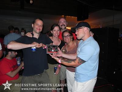 End of Season Kickball Party Summer 2010