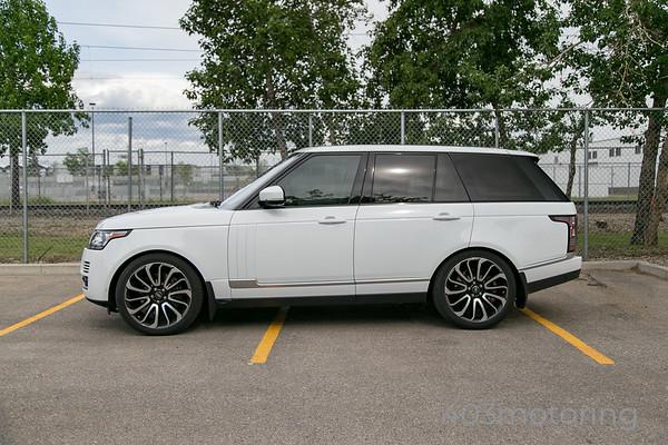'15 Range Rover - Fuji White
