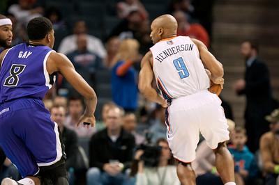 Sacramento Kings vs Charlotte Bobcats 12-18-13 by Jon Strayhorn