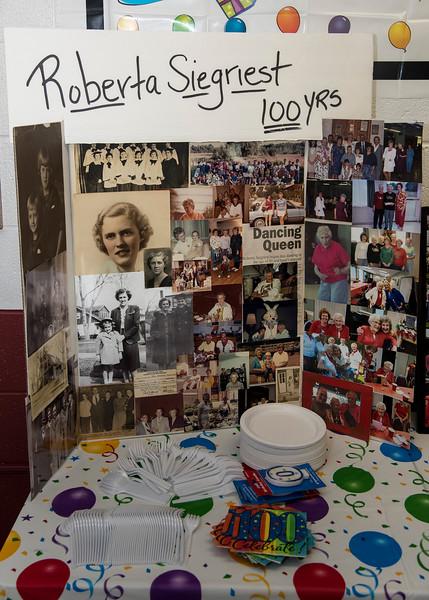 Roberta's 100th Birthday