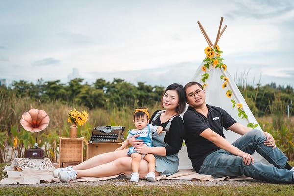 Wren and Glissa Family Photos