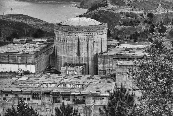 Central Nuclear Lemoniz / Nuclear power station Lemoniz