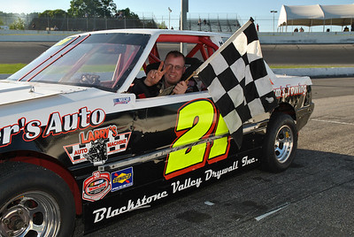 June 14, 2012 Victory Lane Scott