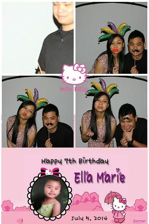 Ella-Marie's 7th Birthday