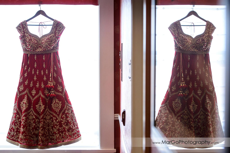 indian wedding dress at Hotel Shattuck Plaza in Berkeley