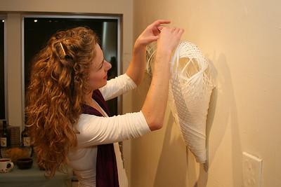 Leslie Benson's Art Show  2/6/09