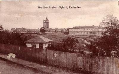 Severalls Asylum,Colchester 2008.