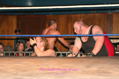 02 BK Jordan & Mikko & Pierre Vachon vs Johnny Angel & Spike Dudley & The Kreeper