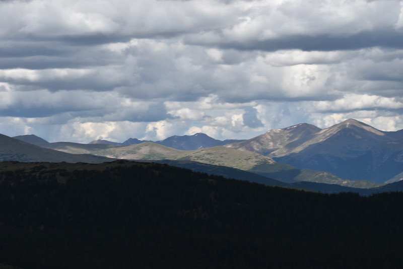 Great views anywhere along Mount Evans Road.