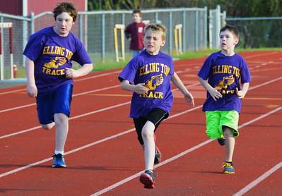 Ellington Youth Track Club Spring 2014
