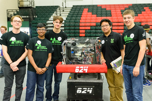 Texas Robotics Invitational 2017 - Team 624 Photos