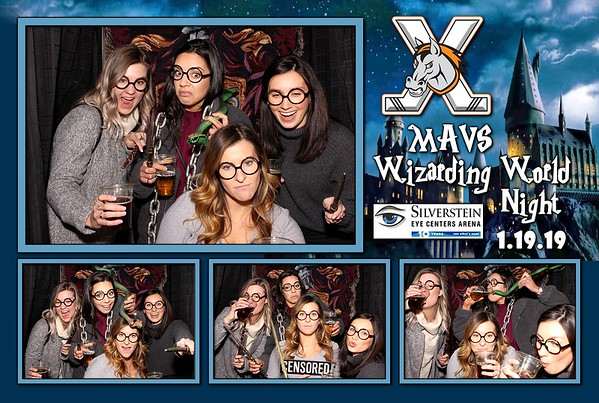 KC Mavericks World Of Wizarding Night
