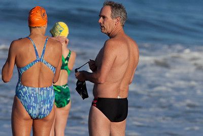 Laps Hermosa Beach 082410