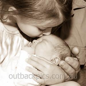 Amanda & baby