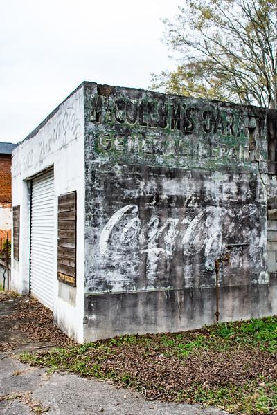 GA, Grantville - Coca-Cola Wall Sign 03
